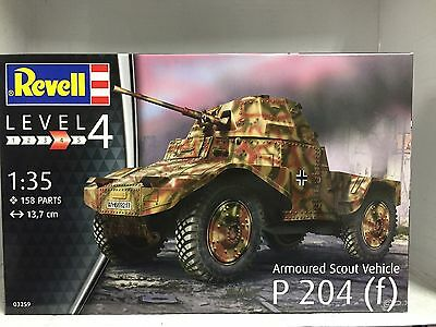+++ Revell Armoured Scout Vehicle P204(f) 1:35 03259