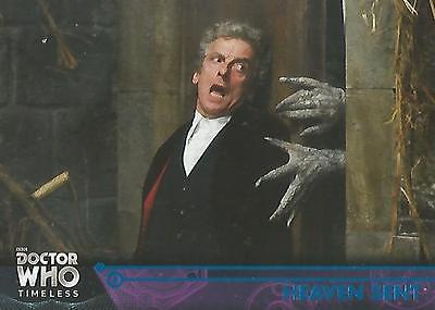 Doctor Who Timeless - No 100 Blue Parallel Base Card #94/99