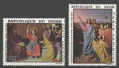 Timbres Arts Tableaux Niger PA76/7 * lot 3020