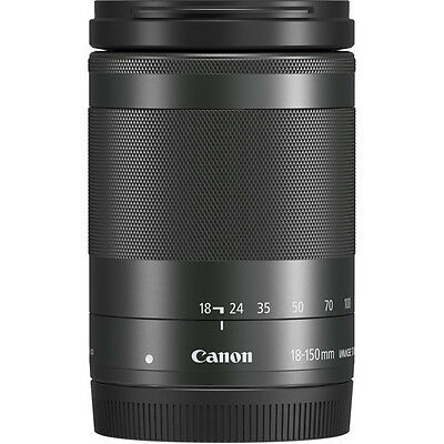 Canon EF-M 18-150mm f/3.5-6.3 IS STM Lens - Graphite