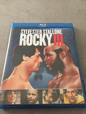 Blu Ray : ROCKY III 3 Avec Sylvester Stallone et Mr T Comme Neuf