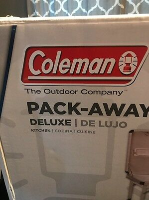 Coleman Pack-Away Deluxe Camp Kitchen NEW IN BOX