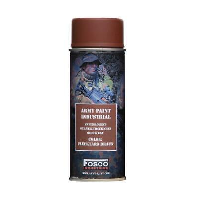 Bombe De Peinture Militaire Spray Fosco 400 Ml Flecktarn Braun Marron Camo