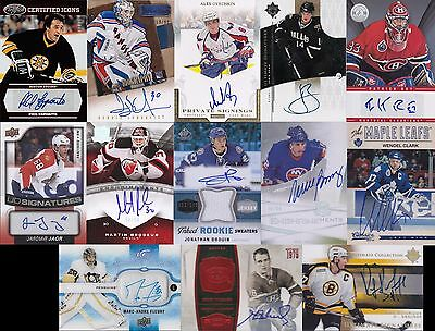 Jersey Auto Rookie Patch Lot Packs - McDavid Crosby Ovechkin Roy Gretzky Price