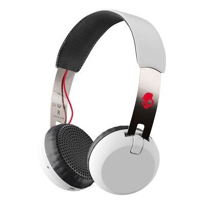 Skullcandy Grind Wireless On-Ear white/black/red S5GBW-J472