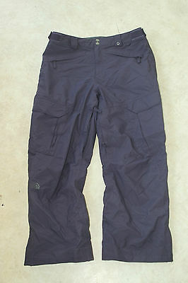 The North Face with HyVent membrane Mens ski Snowboard Pants Trousers Size L