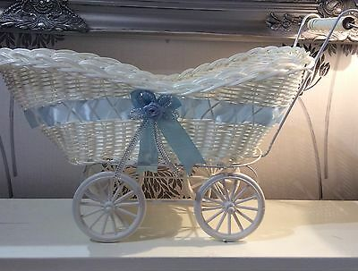 🍼👣PERSONALISED Baby Shower Pram Hamper Gift Sets- Two Options to choose👣🍼