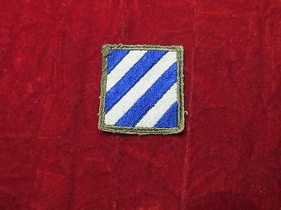 WW 2 3rd Infantry Division US Army Patch