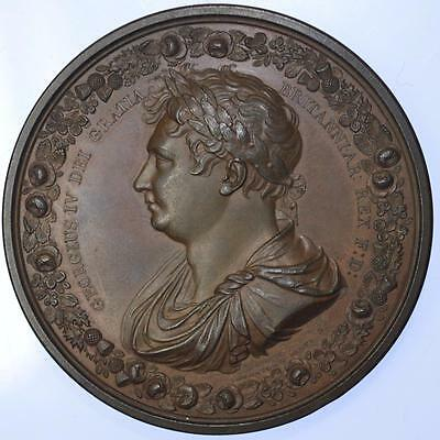 George IV - Coronation 1821, Copper Medal, published by Thomason and Jones