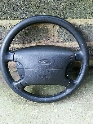 Ford Mondeo mk2 Leather Steering Wheel, Airbag and buttons