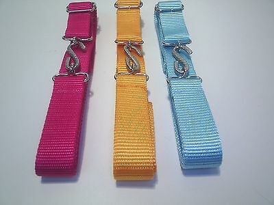 girls super strong web snake belts school sports leisure £1.99 each free post