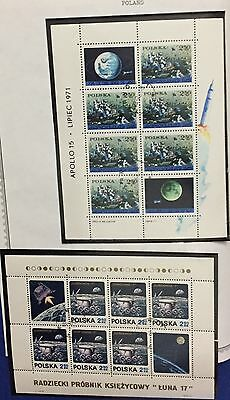 Poland 1971 Complete Year Without Sg 2045 - 91V.+2Sheet Used Splendid