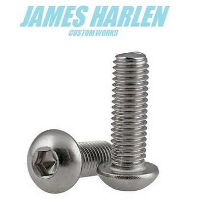 socket button / dome head bolts A2 stainless steel allen key m3/m4/m5/m6/m8 mm
