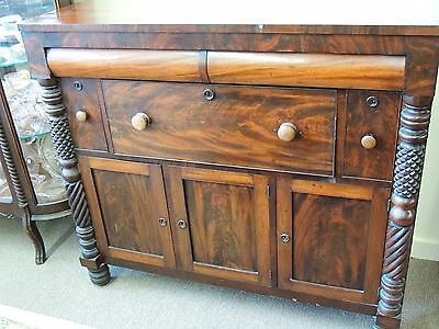 Mahogany Sideboard Buffet Cabinet - Late 1700s to Early 1800s
