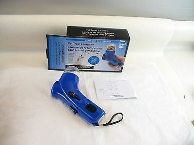 Pefect Solutions Pet Treat Launcher blue new in box