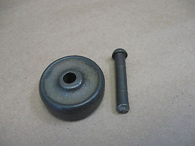 """Antique (ONE) Early Singer Treadle Sewing Machine Wheel & Pin 1-1/4"""" x 1/2"""""""