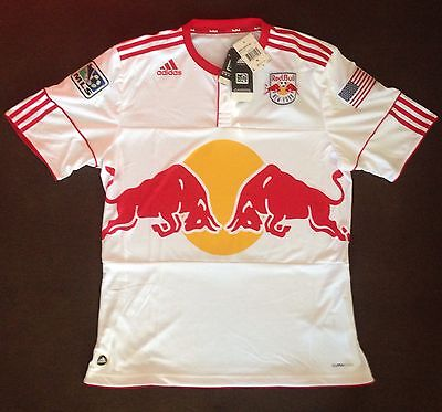 Trikot Red Bull New York XL Rohling USA MLS Bulls NY Authentic Jersey