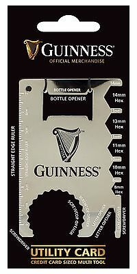 Guinness Label Utility Card