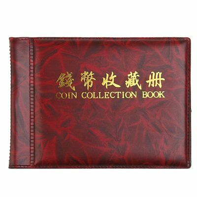NUOLUX Coin Collection Album 60 Coin Holders Can Hold 50P and 2 Pound Coins Rosy