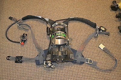 MSA Airhawk High Pressure 4,.5 SCBA With Cylinder and Mask Included