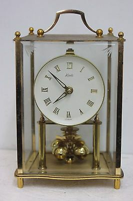 K.& O 4/glass Anniversary clock: 400.day clock: torsion clock for spares/repairs