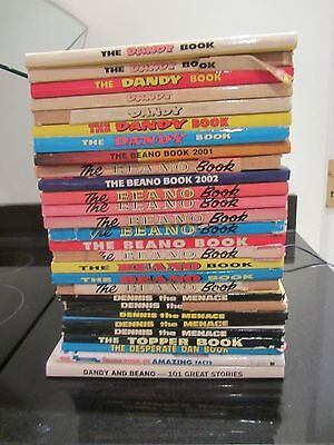 28 x DC Thompson beano dandy dennis the menace Topper annuals job lot