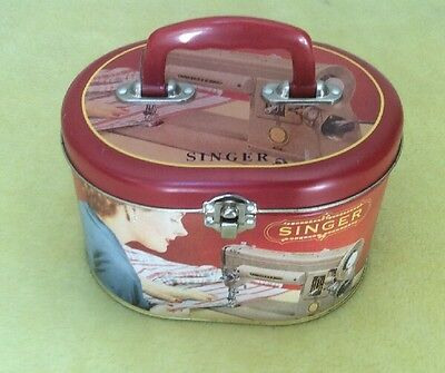 Singer Sewing Tin Vintage 2007 Collectable
