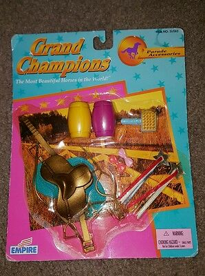 NEW Grand Champion Horse Parade Accessories Tack Set w/Bridle & Saddle