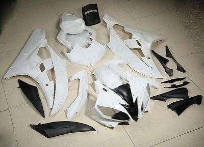 UNPAINTED ABS Plastic Fairing Body work Set For YAMAHA YZF R6 YZF-R6 2006 2007