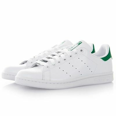 New Mens Stan Smith Trainers Skate Shoes Sports White+Green