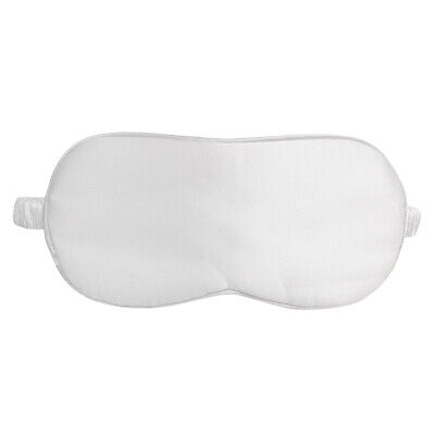 Pure 100% Silk Soft Travel Sleep Rest Aid Eye Mask Cover Eye Patch Blindfold