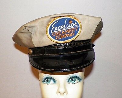 Vintage Excelsior Creamery Company Uniform Hat