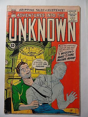 Adventures into the Unknown #142 - Aug 1963 - ACG