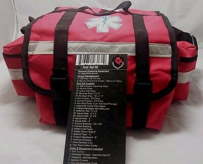 PRIMACARE first responder stocked first aid kit