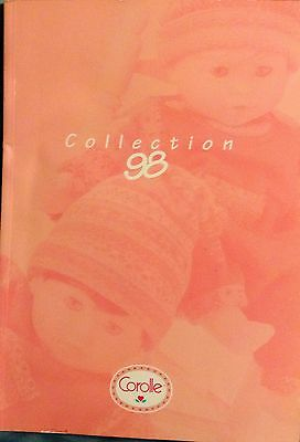 COROLLE DOLL CATALOGUE MAGAZINE BACK ISSUE 1998 page GOOD CONDITION