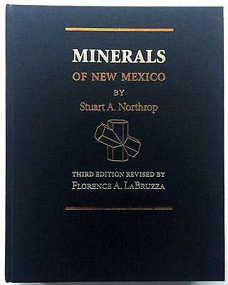 Minerals of New Mexico by Stuart A. Northrop : 3rd Ed Rev 1996 978-0826316622