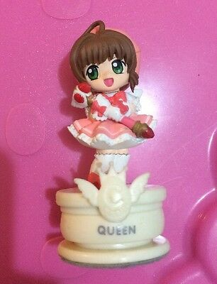 Japan Clamp Manga Anime Rare Cardcaptor Sakura White Chess Piece Queen Figurine