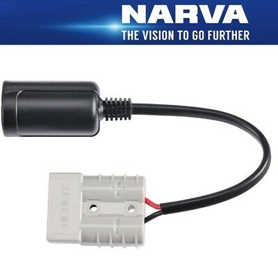 Narva Accessory Socket to 50A Heavy Duty Connector (Anderson) 81065BL