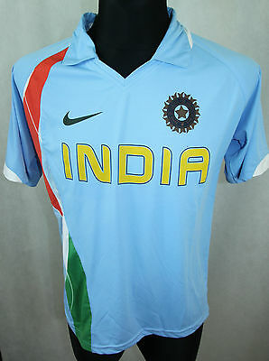 Nike Dry Fit INDIA Team Cricket Jersey Mens L