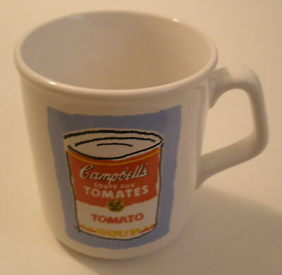 Campbell's Soupe aux Tomatoes-Tomato Soup MUG - French+English -Coffee/Tea- RARE