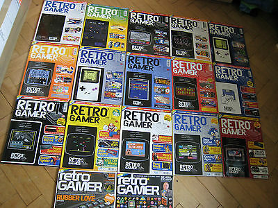 RETRO GAMER MAGAZINE / MAGAZINES COLLECTION - individual ISSUES 3 - 19
