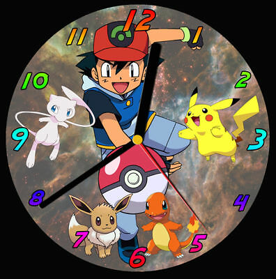 Pokemon CD Clock, can be personalised