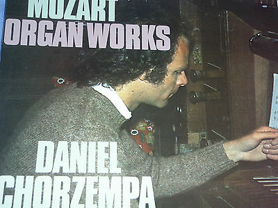 Daniel Chorzempa German Bach Soloists Mozart Organ Works 1975 Philips 6500 598