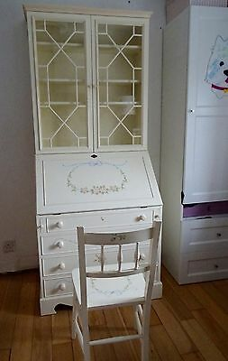 DRAGONS OF WALTON ST bookcase BUREAU shabby chic CHEST study DESK with CHAIR *NR