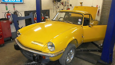 1978 Triumph Spitfire 1500 - VERY SOUND CAR, GOOD BONNET/DOORS/CHASSIS, SEE INFO