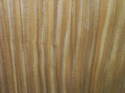 Afrormosia Raw Wood Veneer Sheets 9.5 x 43 inches 1/42nd                r7726-40