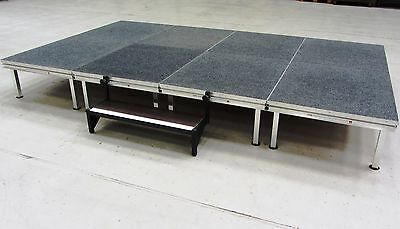 3.4m x 1.7m Portable Stage/Platform, Modular Stage System, School Staging