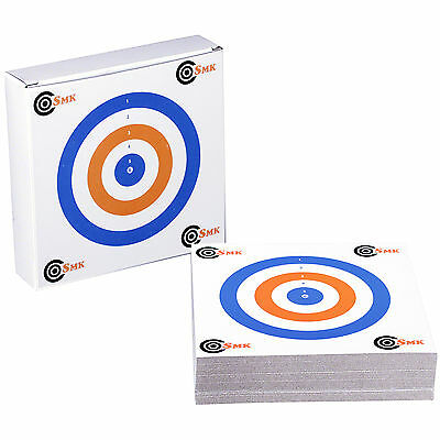 THICK CARD RWB 14cm Airgun Air Rifle Pistol Targets Practice Shooting 100pk SMK