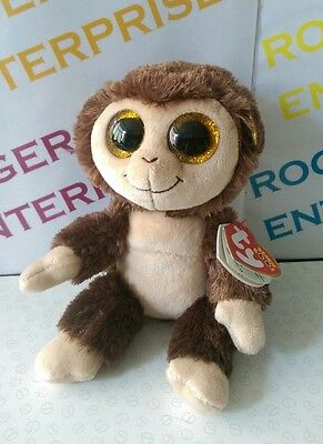 Ty Beanie Boos Collection Audrey The Monkey NEW & Tagged