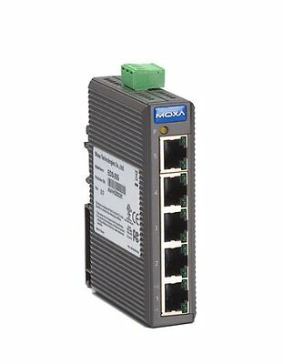 Moxa Industrial Unmanaged Ethernet Switch, 5 PORT